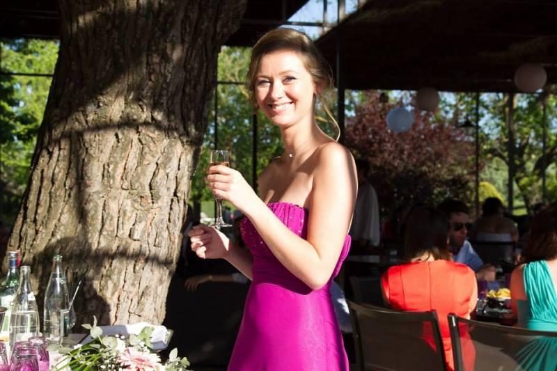 robe de cocktail longue